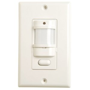 Hubbell - Building Automation IWSZP3PW Occupancy Sensor, Infrared, Wall Mount, 180°, White