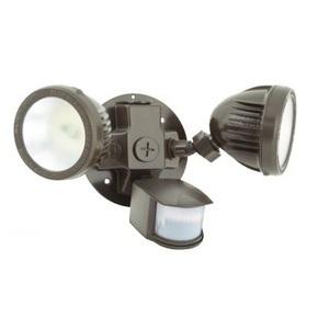 Hubbell - Lighting ML-2L3K-1-WH Flood Light, LED, 26.6W, 2104 Lumens, With Sensor