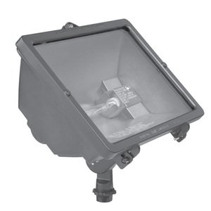 Hubbell - Lighting Q-300-B Flood Light, Quartz, 300W, Bronze