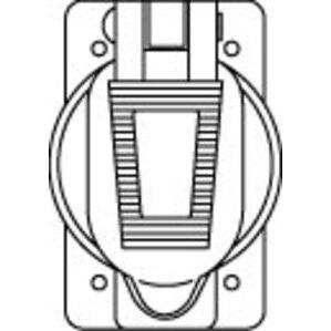 Hubbell-Bryant 20405 Cast Aluminum Plate