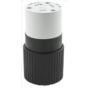 Hubbell-Bryant 70630NC Lkg Conn, 30a 250v, L6-30r, B/w