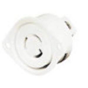 Hubbell-Bryant 7594NP Lkg Plug, Midget 15a 125v, Ml-2p