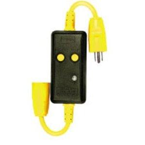 """Hubbell-Bryant GFCI115 Gfci Line Cord, 15a 125v, 18"""""""