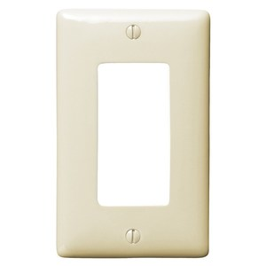 Hubbell-Bryant NP26AL WALLPLATE, 1-G, 1) RECT,