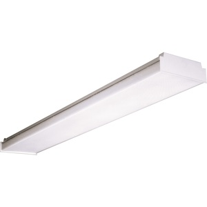Hubbell-Columbia Lighting AWN4-232-EU Wide Low Profile Wrap, 4', 2-Lamp, T8, 32W, 120-277V
