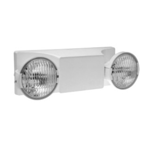 Hubbell-Dual-Lite EZ-2I Emergency Light, 2 Head