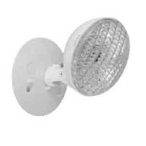 Hubbell-Dual-Lite SRHSW1212 Emergency Light, Incandescent, White, 12V, 12W