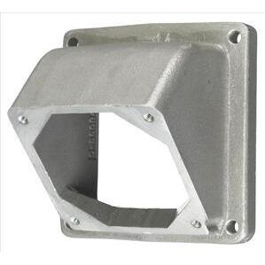 Hubbell-Kellems HBL26404 Alum Adap, Ang, For 26401 Box