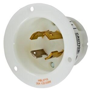 Hubbell-Kellems HBL2715 TWIST LOCK FLANGE INLET