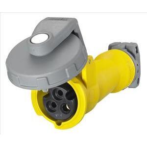 Hubbell-Kellems HBL320C4W Ps, Iec, Conn, 2p3w, 20a 125v, W/t