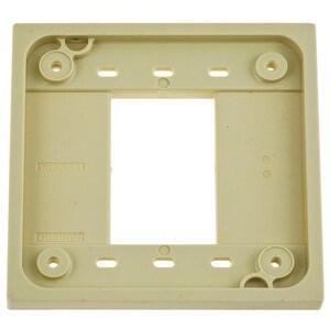 Hubbell-Kellems HBL4API ADAPTER PLATE, 4-PLEX,