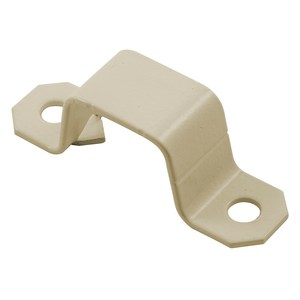Hubbell-Kellems HBL504IV Raceway Mounting Strap, Steel, Ivory, HBL500 Series