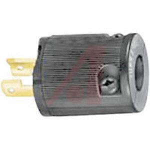 Hubbell-Kellems HBL7465V Locking Plug, Midget, 15A, 125V, 2P2W