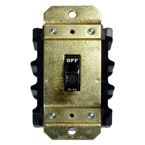 Hubbell-Kellems HBL7842D Manual Motor Switch, 40A, 600VAC, Short Toggle