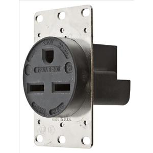 Hubbell-Kellems HBL9330 Single Receptacle, Straight Blade, 30A