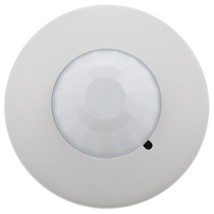Hubbell-Kellems LVPR1500R Ceiling Sensor, Low Profile, Passive Infrared, 1500 Sq. Ft., White
