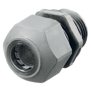 Hubbell-Kellems SEC50GA Hubbell's nylon cord connectors resist most common industrial corrosive and provide effective pullout protection in a lightweight design. They are ideal for any application where weight, conductivity or corrosion may be an issue.