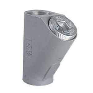 "Hubbell-Killark EY-1M 1/2"" EY Seal Fitting Iron, Female/Female"