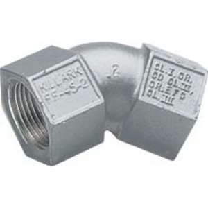 "Hubbell-Killark FF-90-2 Pulling Elbow, 3/4"", 90°, Female/Female, Aluminum"