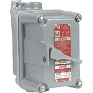 "Hubbell-Killark FXSX53 Switch 1gang 3p F-thru 3/4"""