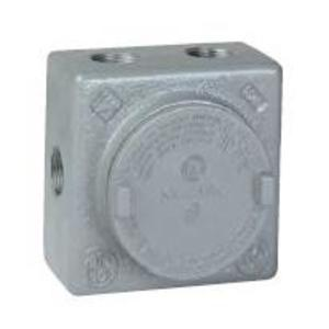 Hubbell-Killark GRSS-2L Conduit Outlet Box With Mounting Lugs, Type GRSS, Explosionproof