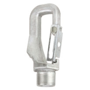"Hubbell-Killark HOOK/LOOP Fixture Hanger, Type: Pendant, 3/4"" Male Thread, Aluminum"