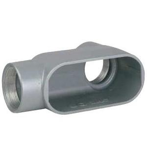 """Hubbell-Killark LB37 Conduit Body, Type: LB, Size: 1"""", Series 7, Malleable Iron, Limited Quantities Available"""