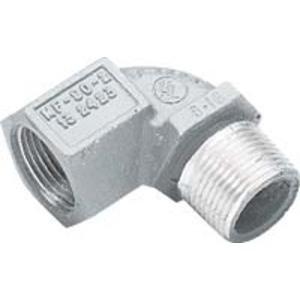 "Hubbell-Killark MF-90-1-EX Elbow, 90°, 1/2"", Male/Female, Explosionproof, Aluminum"