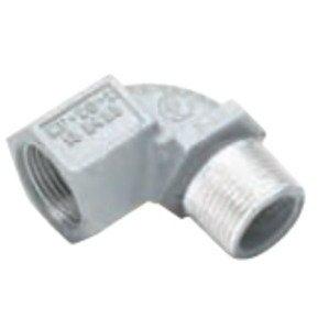 "Hubbell-Killark MF-90-2-EX Elbow, 90°, 3/4"", Male/Female, Explosionproof, Aluminum"
