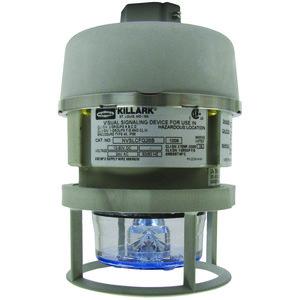 Hubbell-Killark NVSLCSG25BAG Hazardous Beacon, NVS Series, Compact LED, 120-240V AC, Blue