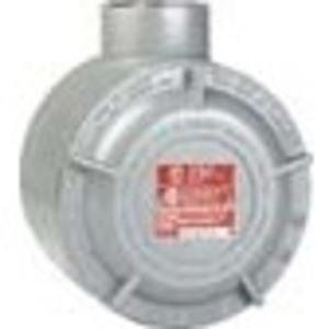 "Hubbell-Killark SPJ25518 Conduit Outlet Box, Type GESLBT, (2) 1"" Hubs, Aluminum"