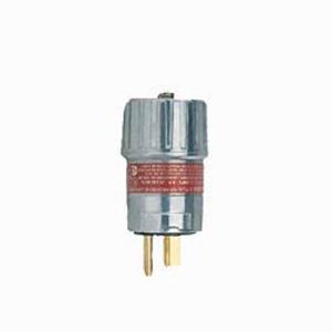 Hubbell-Killark UGP-20231 UGP Bladed Plug, 15 Amp, NEMA 5-20P, 2-Wire, 3-Pole