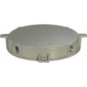 "Hubbell-Killark VMX2B Ceiling Pan, Pendant Splice Box, 3/4"", Metallic"