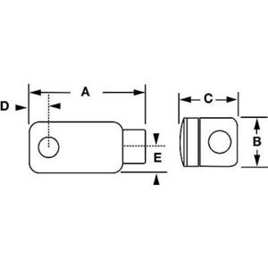 """Hubbell-Killark XLB-1 1/2"""" Lb Type Al Haz Loc Fittin"""