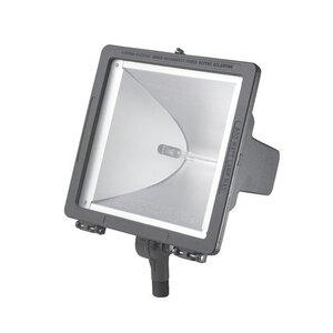 Hubbell-Outdoor Lighting QL-505 Flood Light, Quartz, 500W, Gray