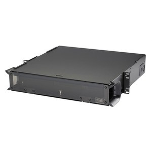Hubbell-Premise FCR2U6SP Enclosure, Rack Mount, Enhanced, 2RMU, Standard, 6 FSP Panel