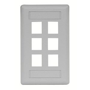 Hubbell-Premise IFP16GY PLATE,