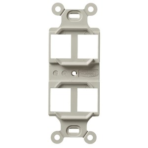 Hubbell-Premise Q106O STYLELINE DUPLEX OUTLET