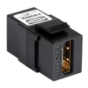 Hubbell-Premise SFHC14BK HDMI Connector, Keystone, IMB/ISFB, Black