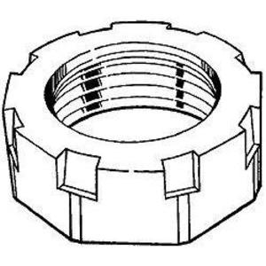 "Hubbell-Raco 1114 Conduit Bushing, 3-1/2"", Malleable Iron"
