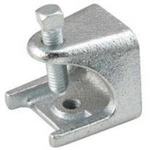 "Hubbell-Raco 2524 Beam Clamp, 1"", Malleable Iron"