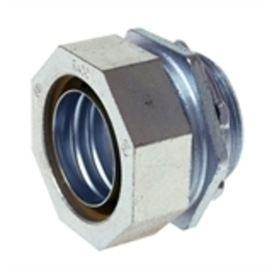 """Hubbell-Raco 3405 Liquidtight Connector, Straight, 1-1/4"""", Malleable Iron"""
