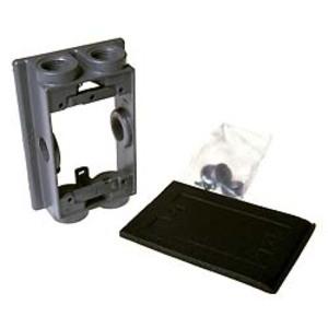 "Hubbell-Raco 5415-0 Weatherproof Swing Arm Extension Adapter, 1-1/2"" Deep, Metallic"