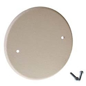 """Hubbell-Raco 5653-1 5"""" Round Box Cover"""