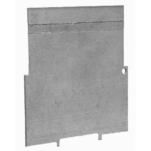 """Hubbell-Raco 709 4"""" Square Partition, Low Voltage, 4"""" x 4"""" X 2-1/8"""", Steel"""