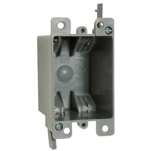 """Hubbell-Raco 7887RAC Cable Box, 1-Gang, Depth: 2-29/32"""", Old Work, Non-Metallic"""
