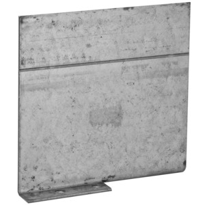 "Hubbell-Raco 971 Masonry Box Partition, Low Voltage, Width: 3-1/2"", Metallic"