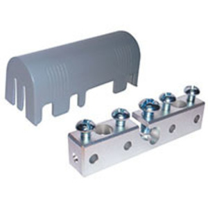 Hubbell-Raco RACIBB Intersystem Bonding Bridge, (5) Connections, Zinc/Polycarbonate