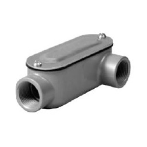 "Hubbell-Raco RLL075 3/4"", Type LL, ""R"" Series, Conduit Body"
