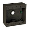Hubbell-TayMac 2-Gang Boxes - Metallic